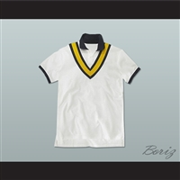 Private Yacht Style Men's White Polo Shirt