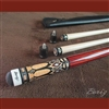 Boriz Billiards Pro Series Malayasian Redwood Grip w/ Pool Cue Joint Protectors