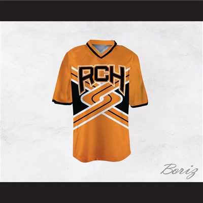 Rancho Carne High School Toros Male Cheerleader Orange Uniform