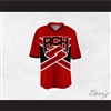 Rancho Carne High School Toros Male Cheerleader Red Uniform