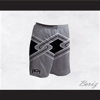 Rancho Carne High School Toros Male Cheerleader Gray Uniform Shorts