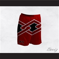 Rancho Carne High School Toros Male Cheerleader Red Uniform Shorts