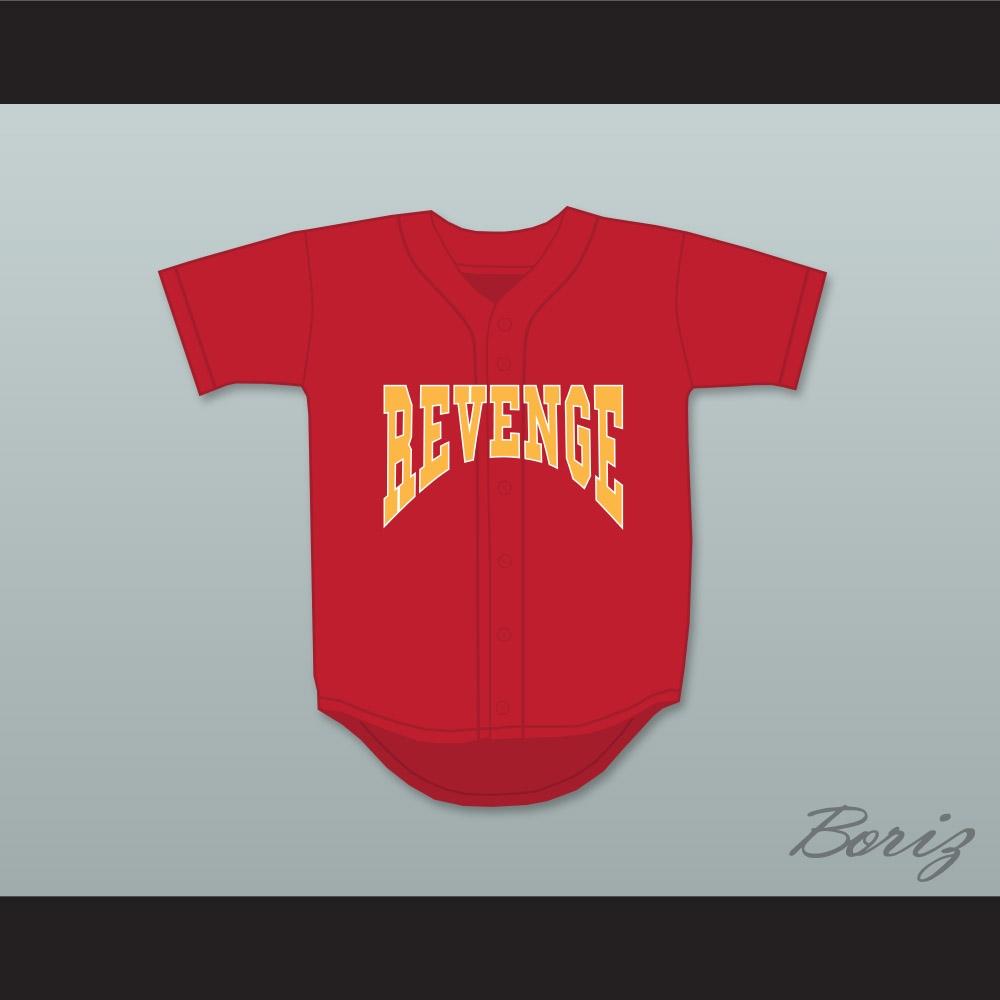 b06df5a286a Drake Summer Sixteen Revenge Red Baseball Jersey