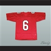 Rachel Berry 6 William Mckinley High School Football Jersey