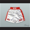 Riddick 'Big Daddy' Bowe White Boxing Shorts