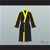 Rocky VI Black Satin Full Boxing Robe