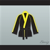 Rocky VI Black Satin Half Boxing Robe
