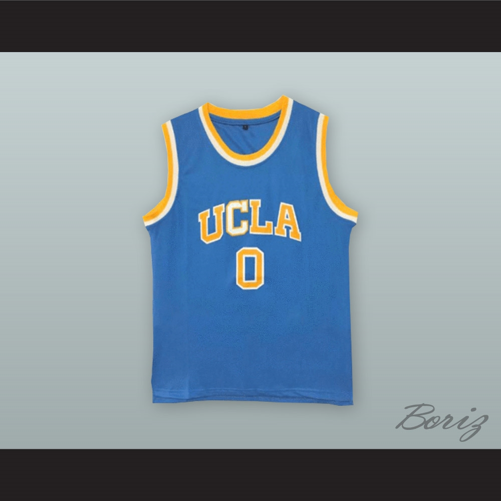 ... hot russell westbrook 0 ucla light blue basketball jersey 73fc8 2e040 698f7a3ce