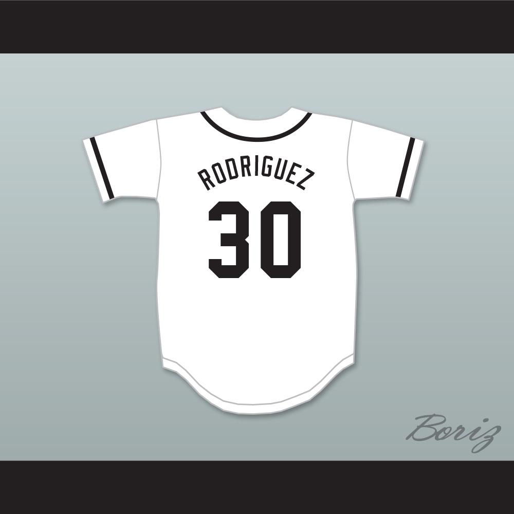 Benny  The Jet  Rodriguez 30 Baseball Jersey The Sandlot b08fbafb1
