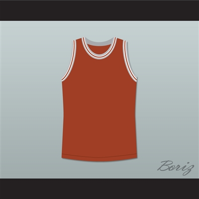 Philip Seymour Hoffman Sandy Lyle Along Came Polly Dark Orange Basketball Jersey