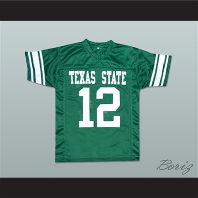 Scott Bakula Paul Blake 12 Texas State Fightin' Armadillos Football Jersey