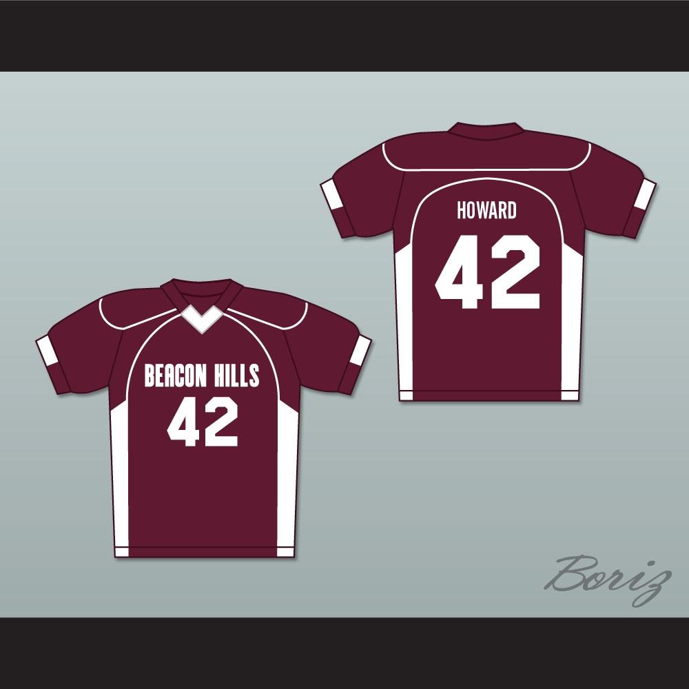 Scott Howard 42 Beacon Hills Cyclones Lacrosse Jersey Teen ...