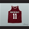 Scott McCall 11 Beacon Hills Basketball Jersey Teen Wolf