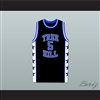 Lucas Scott One Tree Hill Ravens Black Basketball Jersey