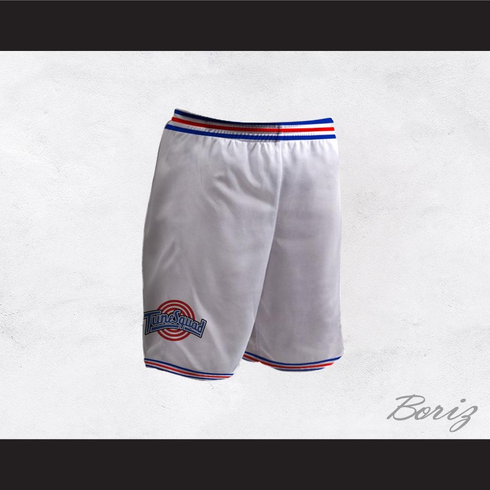 9056c6c04578a6 Space Jam Tune Squad White Basketball Shorts