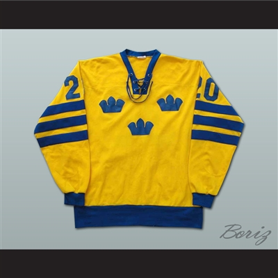 Anders Hedberg Team Sweden Hockey Jersey