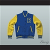 Michael J. Fox Scott Howard Beacon Hills Beavers Varsity Letterman Jacket-Style Sweatshirt Teen Wolf