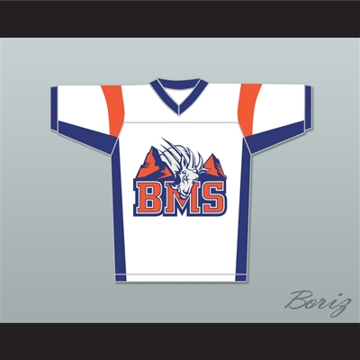 Thad Castle 54 Blue Mountain State Goats Football Jersey