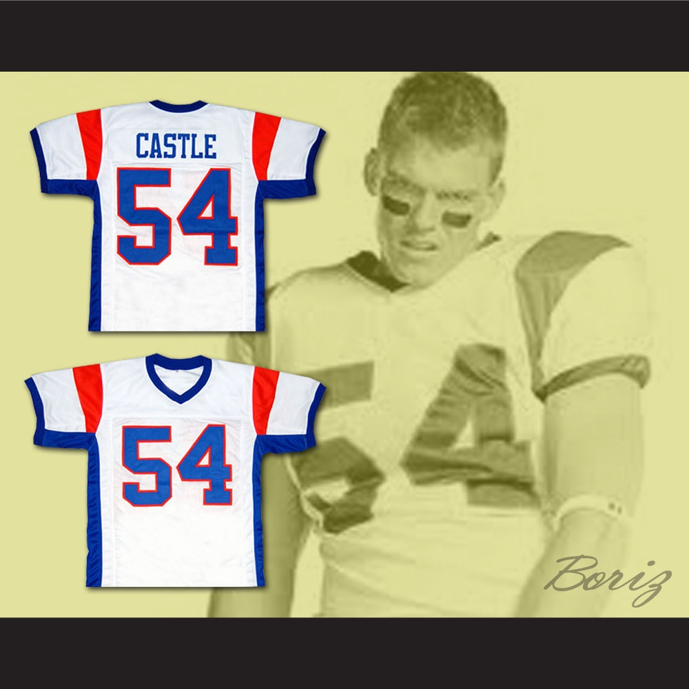 63e4df80400 Thad Castle Blue Mountain State TV Show Football Jersey