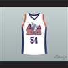 Thad Castle 54 Blue Mountain State Goats Basketball