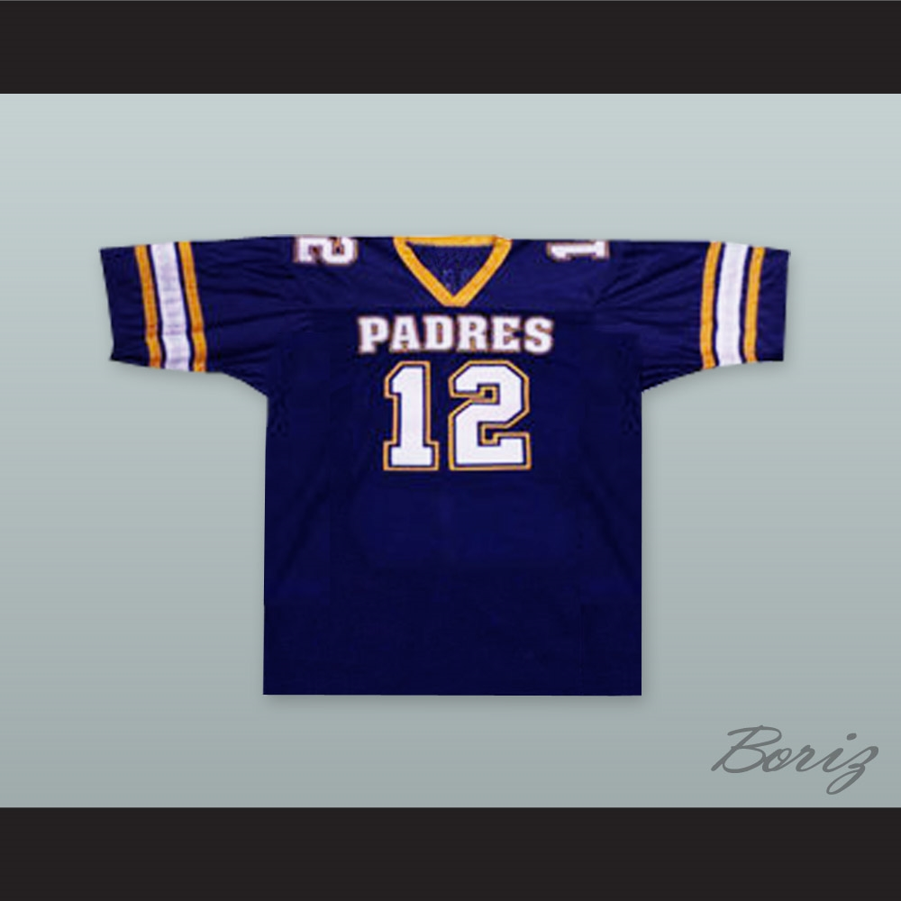 30af7f791 Tom Brady 12 Junipero Serra Padres High School Football Jersey
