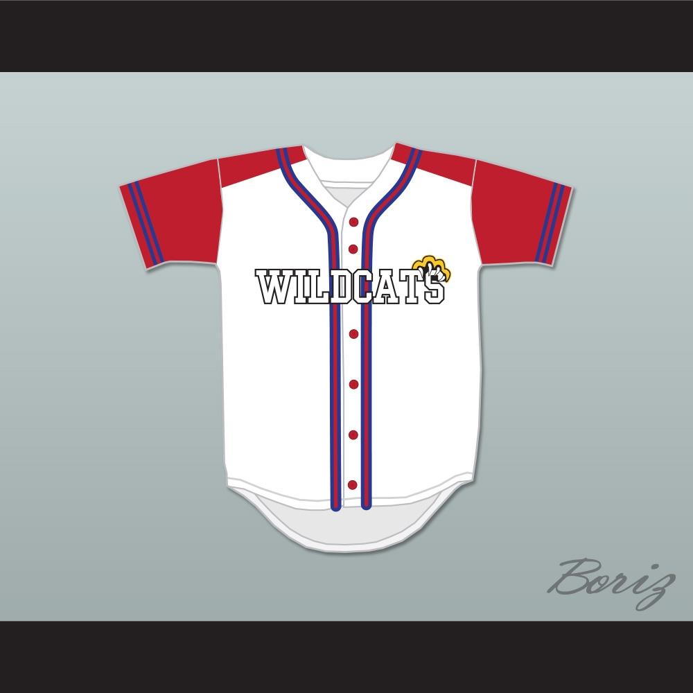 6643931a2d8 Troy Bolton 14 East High School Wildcats Baseball Jersey Design 2