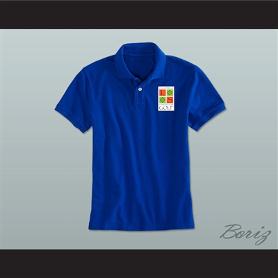 Troy Bolton Lava Springs Country Club Golf Blue Polo Shirt