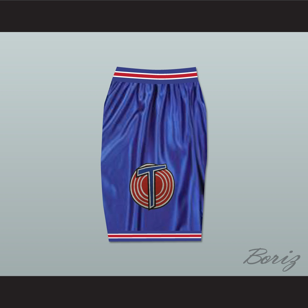 quality design c7959 c8fbf Michael Jordan Space Jam Tune Squad Shorts Blue