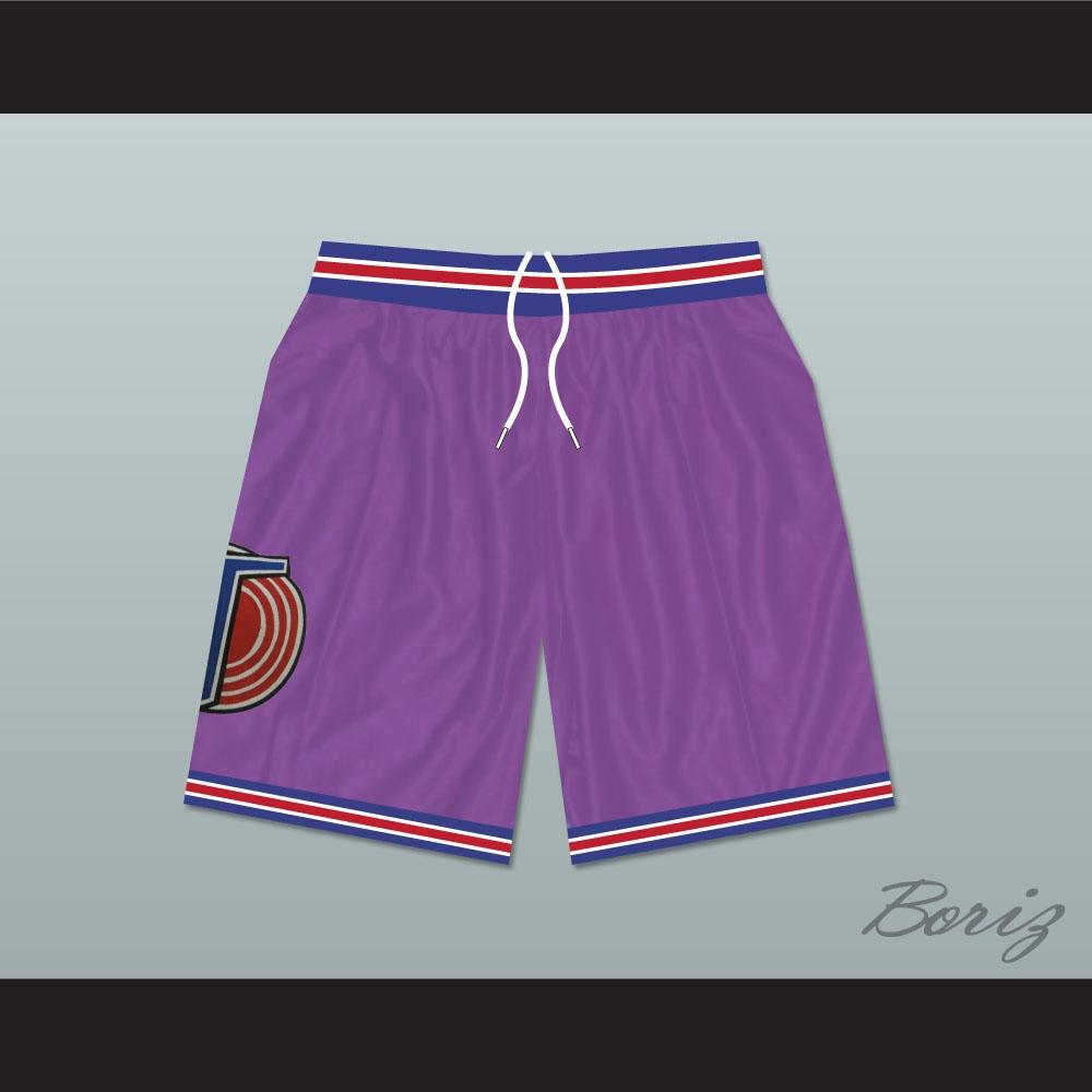 c6af956ba69621 Michael Jordan Space Jam Tune Squad Shorts Purple