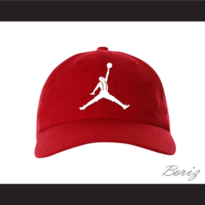 Urkel Jumpman Spoof Logo Red Baseball Hat Family Matters