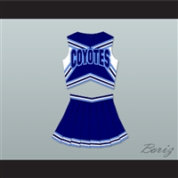 Varsity Blues Darcy Sears (Ali Larter) West Canaan High School Coyotes Cheerleader Uniform