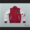 William McKinley High School Red Varsity Letterman Jacket-Style Sweatshirt