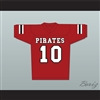 J.J. Watt 10 Pewaukee Pirates High School Football Jersey