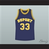 Jason Williams 33 Dupont High School Panthers Basketball Jersey