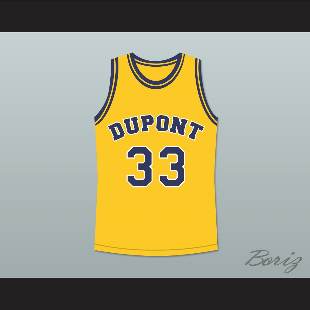 online retailer 6a3b3 4315e Jason Williams 33 Dupont High School Panthers Basketball Jersey Any Player