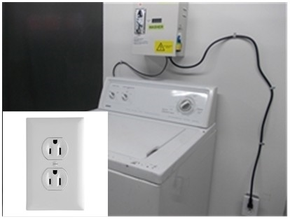 DOMESTIC/RESIDENTIAL WASHER (120V) COIN KIT CONVERSION