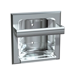 ASI 0410-Z Recessed Soap Dish with Bar