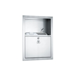 ASI 0548 Recessed Sharps Disposal Cabinet