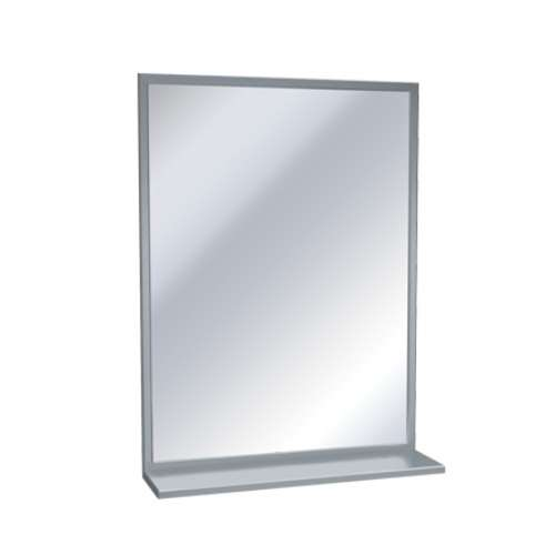 ASI 0605 60 x 36 Mirror with shelf - Division 10 Direct