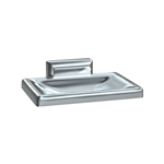 ASI 0720-Z Surface Mount Soap Dish with Drain Holes