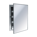 ASI 0952-B Recessed Medicine Cabinet with Mirror and Shelves