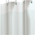"ASI 1200-V84 84"" W x 72"" H Shower Curtain"