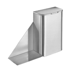 Bradley 4791-11 Sanitary Napkin Disposal with Shelf
