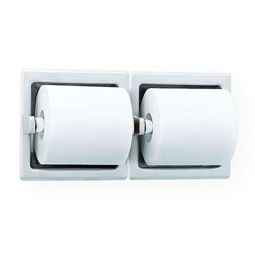 Bradley 5124 52 Recessed Dual Toilet Paper Holder