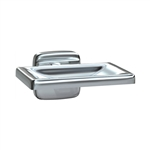 ASI 7320-B Surface Mount Soap Dish with Drain Holes