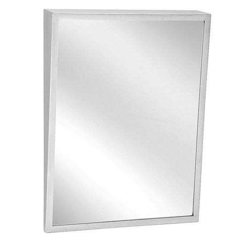 Bradley 740 018360 18 X 36 Tilt Frame Mirror Division 10 Direct