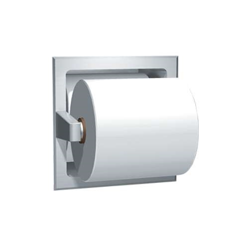 Asi 7403 S Recessed Toilet Paper Holder Image Larger Photo