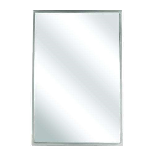 Bradley 780-024600 24 x 60 Angle Frame Mirror - Division 10 Direct