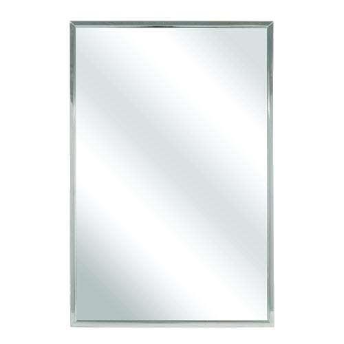 Bradley 781 024480 24 X 48 Channel Frame Mirror Division 10 Direct