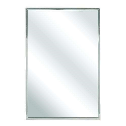 Bradley 781 060360 60 X 36 Channel Frame Mirror Division 10 Direct